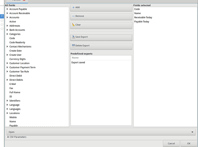 tryton-export-csv-predefined